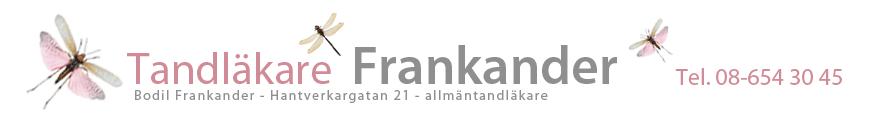 Tandläkare Frankander, allmän tandläkare